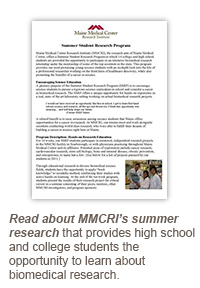 MMCRI Summer Research